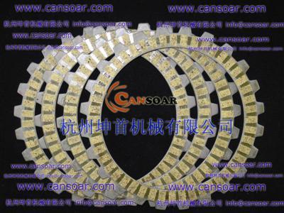 Clutch Disc Kyy110 Twister Cb125 Wave100