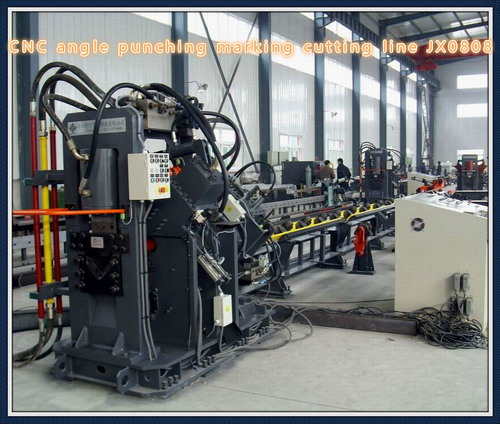 Cnc Angle Punching Machine For Steel Tower