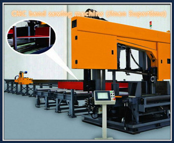 Cnc Band Sawing Machine For Beam