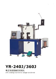 Cnc Coil Winding Machine For Voltage Transformer Yr 240j 260j