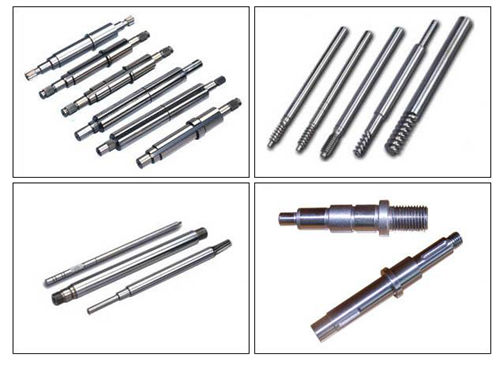 Cnc Turned Machined Parts Of Shafts Electric Power Tools Shaft Spline Keyway Pinion Motor Drive Worm