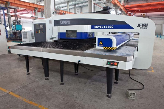 Cnc Turret Punch Press Hydraulic Servo Mechanical