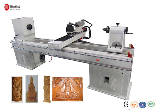 Cnc Wood Turning Lathe For Cylinder Woodworking Cc Mx3015