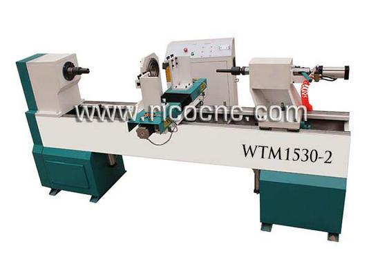 Cnc Wood Turning Lathe Machine For Banister Pillars Wtm1530 2