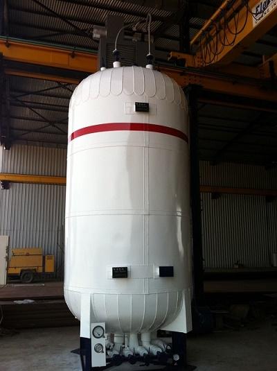 Co2 Liquide Transport Tank