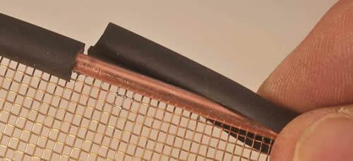 Coarse Copper Mesh Used In Rfi Shielding Faraday Cage
