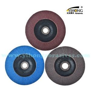 Coated Abrasive Flap Disc With Zirconia Alumina