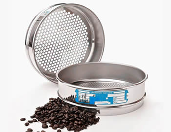 Coffee Sieve Perforated Round Holes
