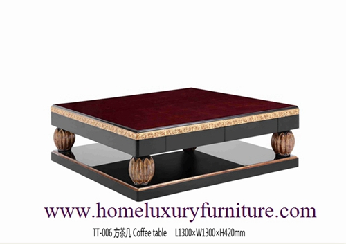 Coffee Table Supplier Living Room Furniture China Neo Classical Furnitrue Tt 006