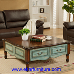 Coffee Table Wooden Antique Fy 2006