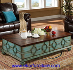 Coffee Table Wooden Living Room Fy 2007