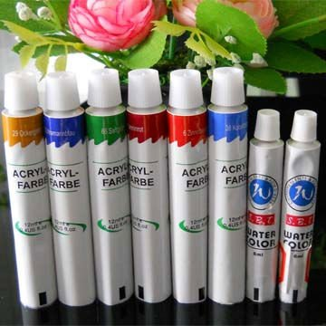 Collapsible Aluminum Pigment Tube Packaging