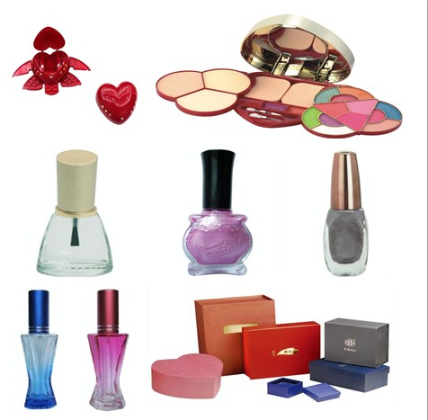Color Cosmetics Packing 65292 Full Set Makeup Kits Paper And Plastic Box For Cosmetic Nail Polish Bo