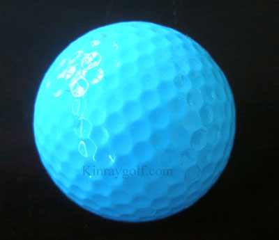 Color Golf Ball Blue