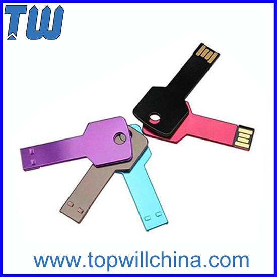 Colorful Al Key Thumb Drive With Free Logo Printing