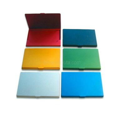 Colorful Aluminum Card Case