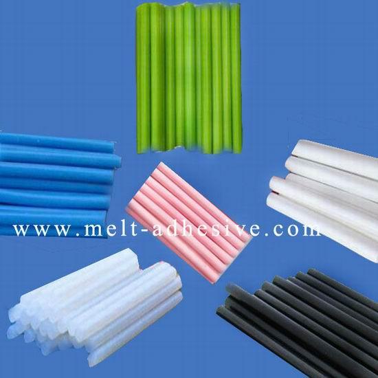Colorful Hot Melt Glue Sticks White Black Blue