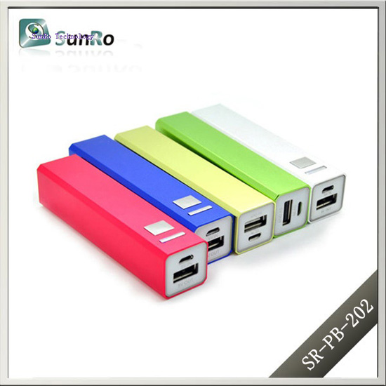 Colorful Lipstick Power Bank