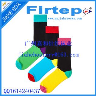 Colorful Men Socks Happy Custom Sock