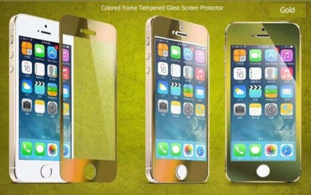 Colorful Tempered Glass Screen Protector