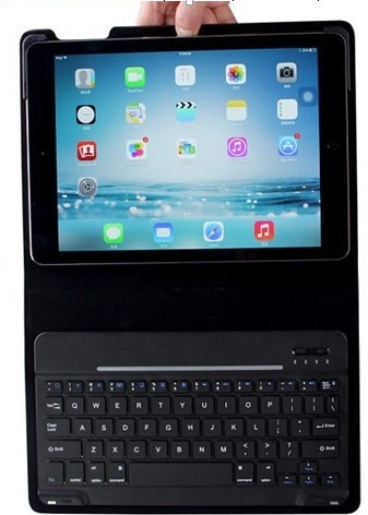 Combination Of Universal Bluetooth Keyboard And Magnetic Leather Case For Ipad Air Hb068a