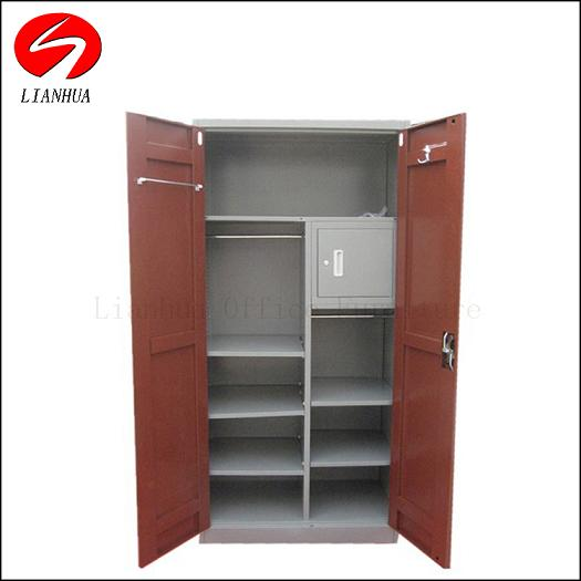 Combination Utility Metal Office File And Wardrobe Cabinet