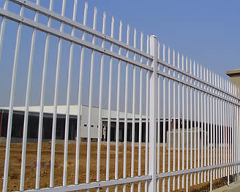 Commercial Aluminum Fence Added Strength And Security