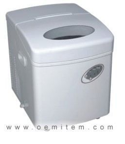 Compact Ice Maker White