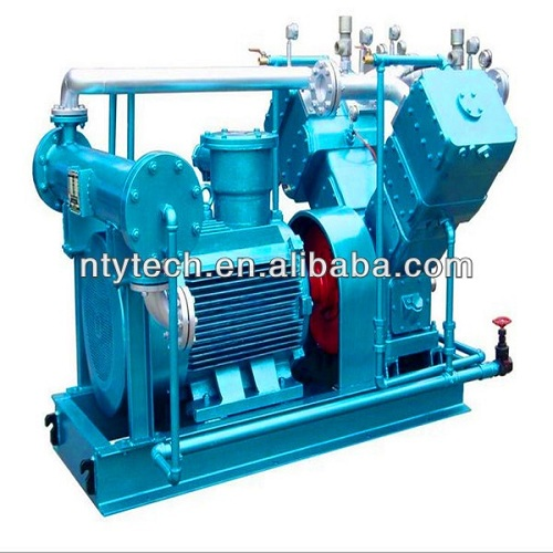 Compact Structure Oil Free Piston Gas Compressor