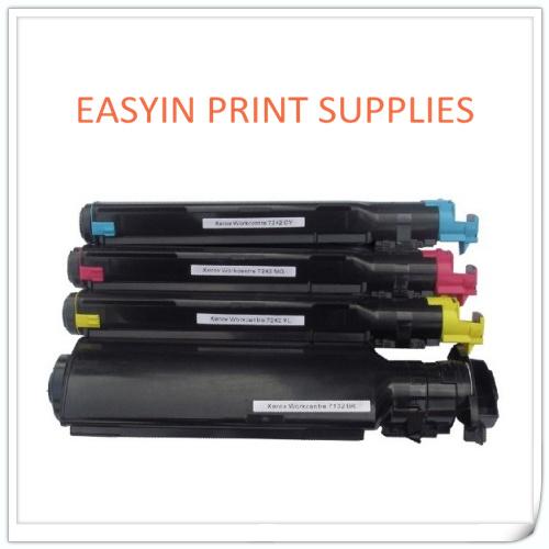 Compatible Printer Toner Cartridge For Xerox 7132 7232 7242