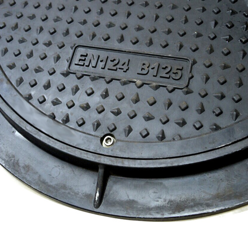 Composite Manhole Cover With Rubber Seal