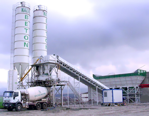 Concrete Batching Plant 30 60 90 M3 H