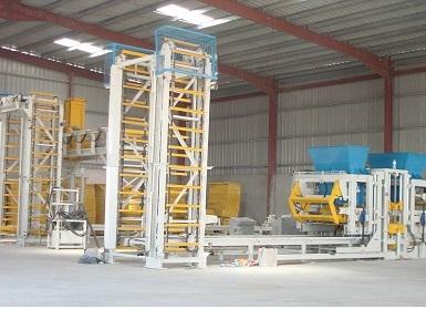 Concrete Block Manufacturing Plants
