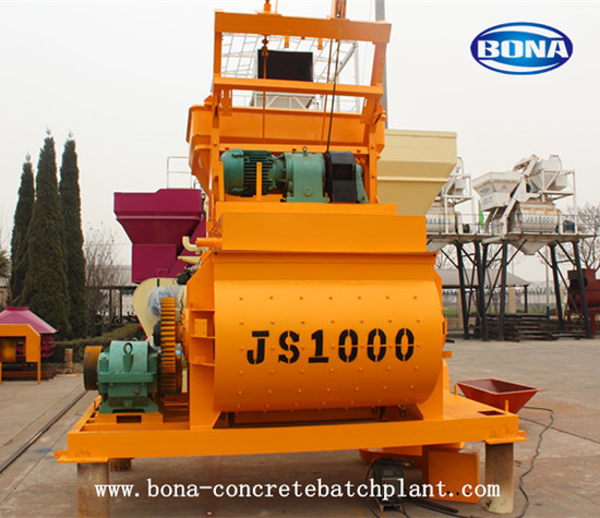 Concrete Mixer Machine Js1000 Sperated Uesd Or Used As Mixng Host In Plant