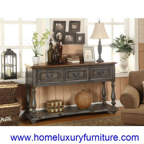 Console Table Decorations Furniture Wood 50688