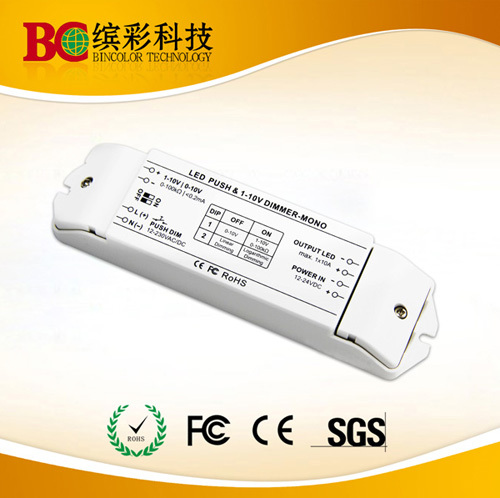 Constant Voltage Single Channel 10a Push Dim Led 0 1 10v Dimming Driver
