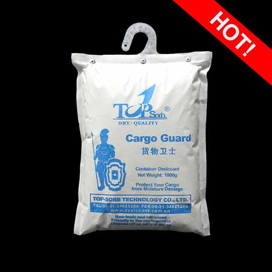 Container Desiccant Activated Clay Super Cargo Guard 1000