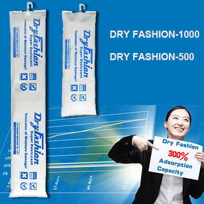 Container Desiccant Super Strip Dry Fashion 500g