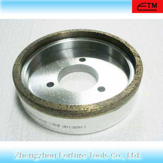 Continues Metal Bod Diamond Cup Grinding Wheel