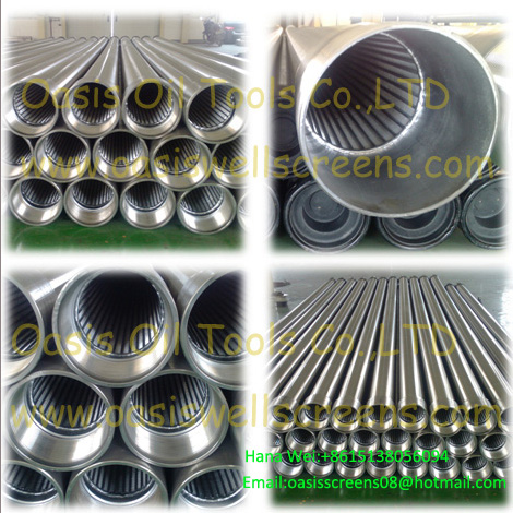 Continuous Slot Stainless Steel 316 Screen Casing Pipe