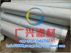 Continuous Slotted Screen Filter Tube Oil