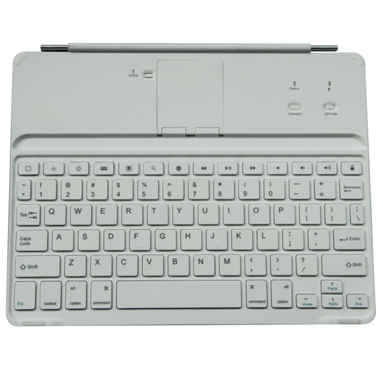 Contracted Ipad 2 3 4 Bluetooth Keyboard With Magnetic Strip And Retractable Baseboard Hb015 Backlit