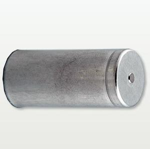 Convex Aluminum Capacitor Can With Base