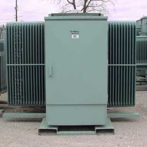 Cooper 2 000 Kva Oil Filled Substation Transformer Primary Side 12470 Volts 5 Taps Secondary 480y 27