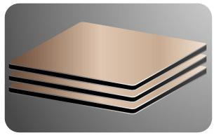 Copper Composite Panel Aluminium