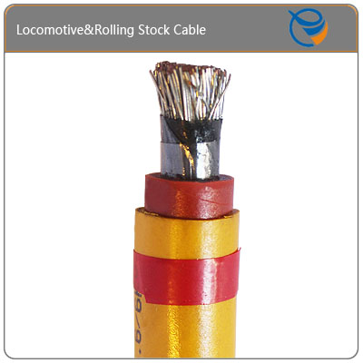 Copper Core Heat Resistant Rolling Stock Cable