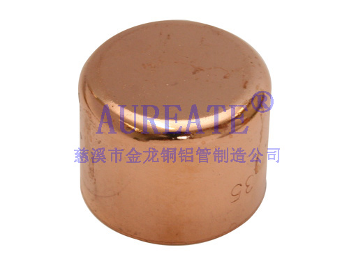Copper Fitting Cap Au C