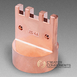 Copper Machined Forging Part