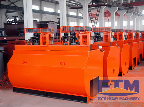 Copper Ore Flotation Machine