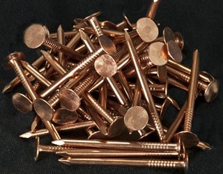 Copper Roofing Nails Used In High Pollution Areas